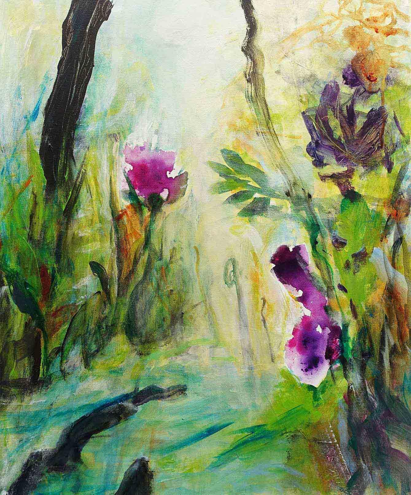 Natur 1- Acryl auf Leinwand 50cmx60cm