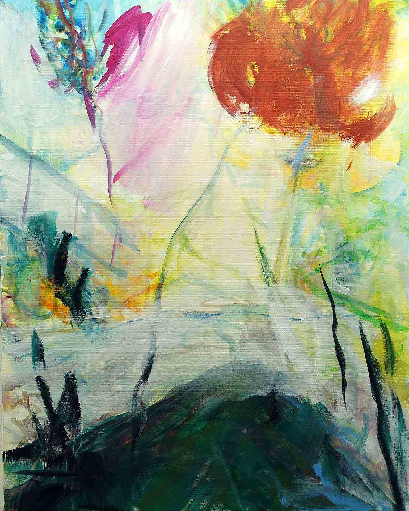 Natur 3- Acryl auf Leinwand 80cmx100cm