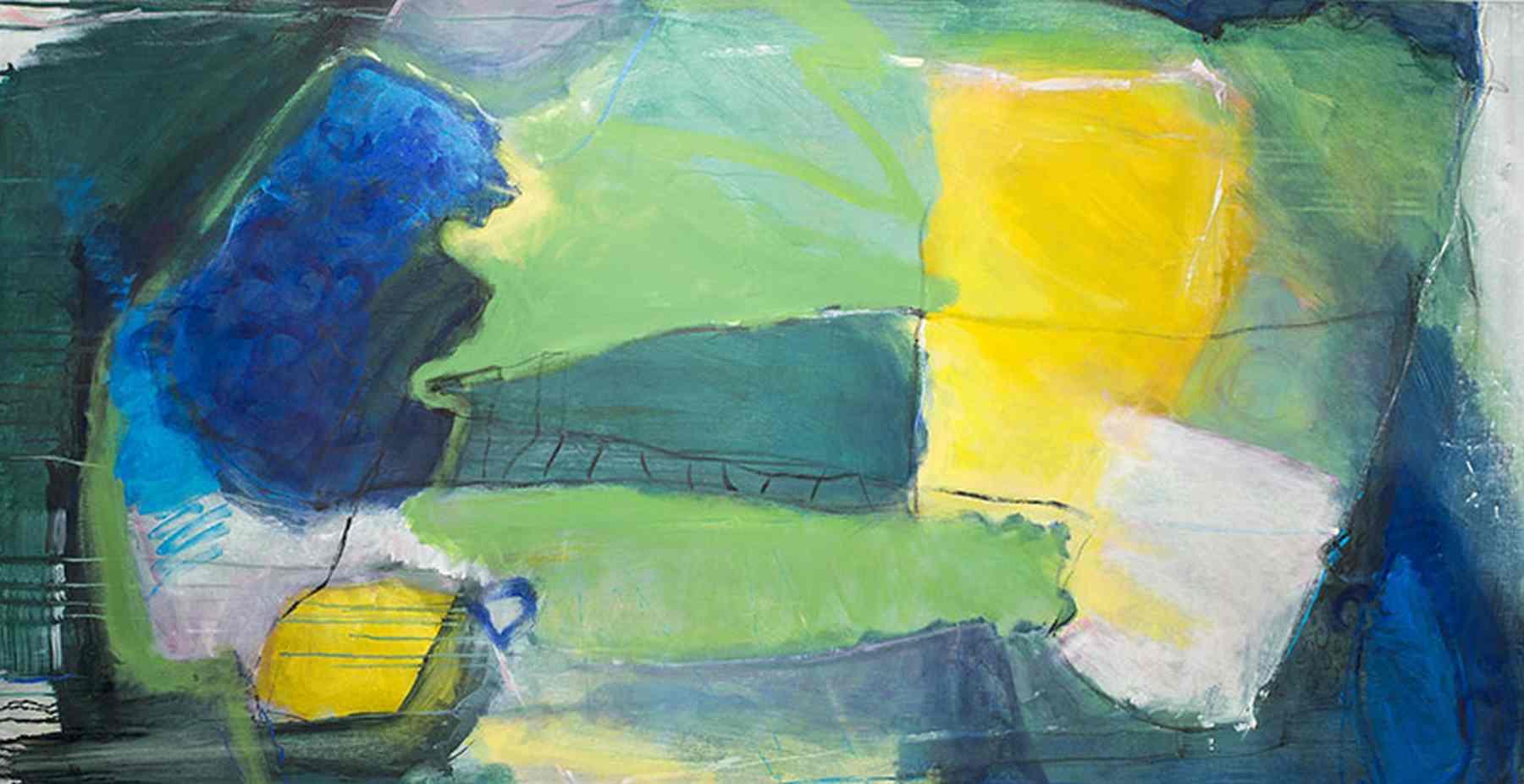 Abstrake Kunst auf Leinwand 10