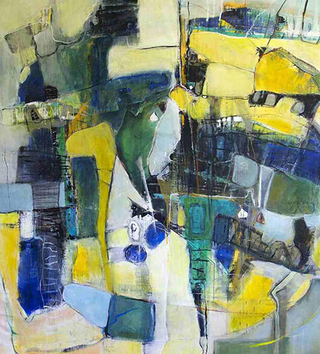 Abstrake Kunst auf Leinwand 12