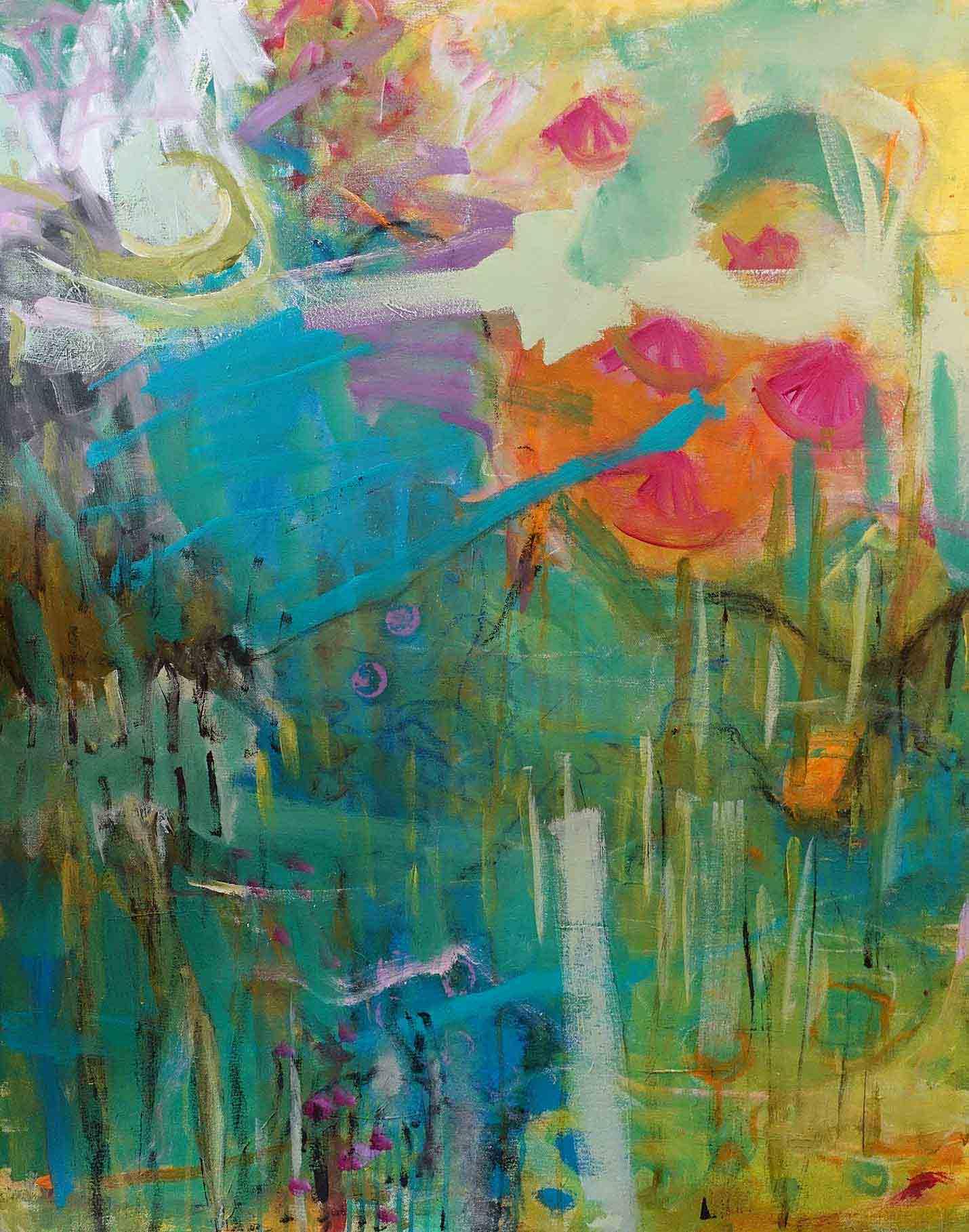 Malerei auf Leinwand 2