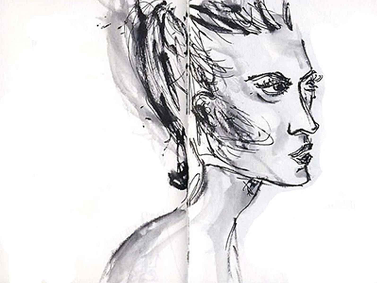 Skizzen und Bilder von Birgit Busch